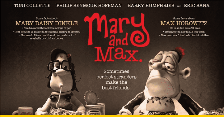Flyer Mary and Max
